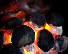 Smokeless fuel coal ovoids